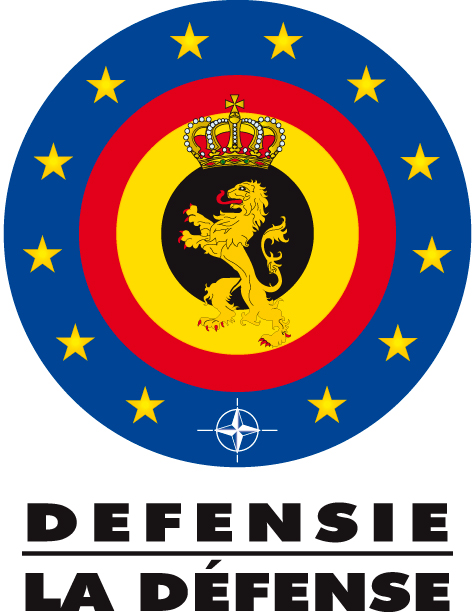 DEFENSIE - LA DEFENSE - Logo color - Text black - Quality print
