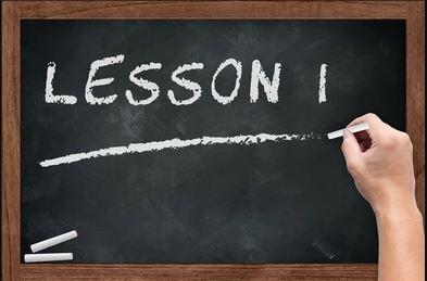 Start nieuwe lessenreeks 18 september